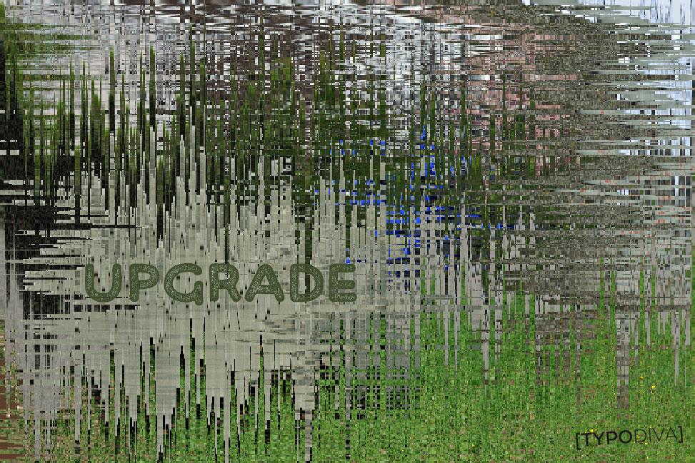 digital upgrade bildlich dargestellt